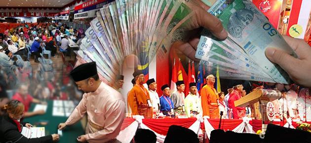 politik wang