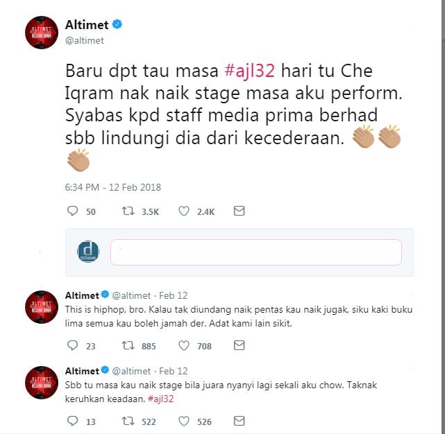 Altimet twitter