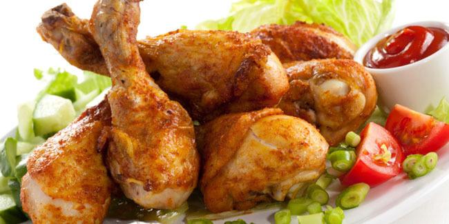 makanan ayam goreng