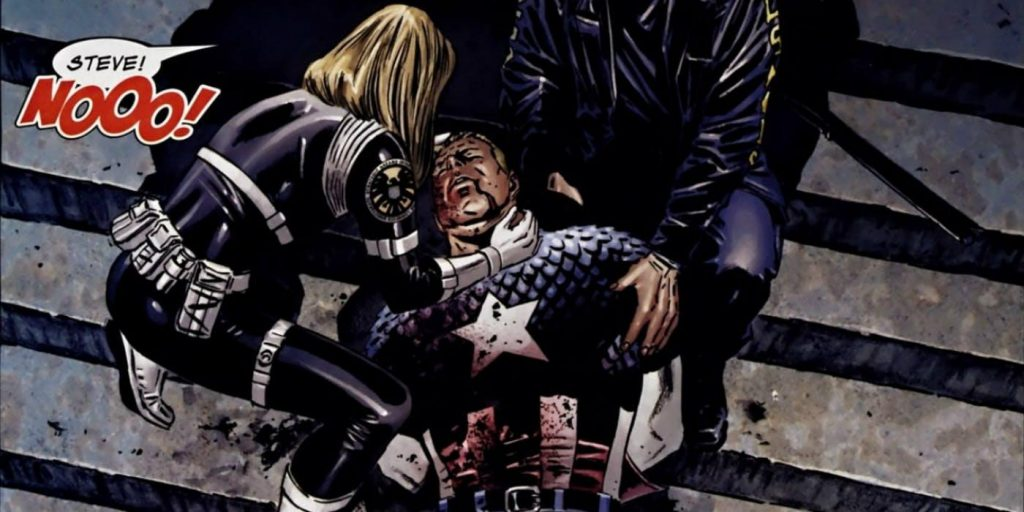 Captain America comic death