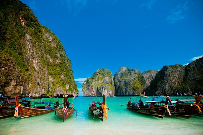pantai maya bay koh phi phi