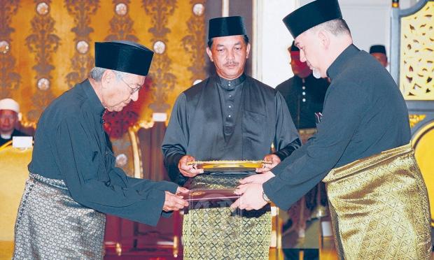 Anwar Ibrahim Perdana Menteri